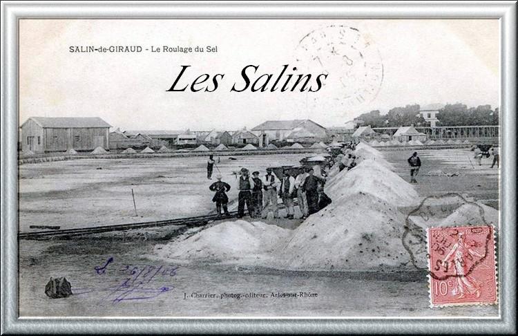 La Provence d'Antan - Les Fabriques et Industries - Les Salins