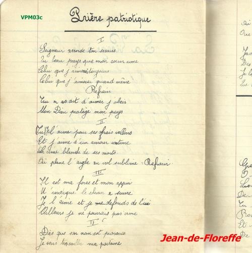 2. Prière patriotique (avant 1940)