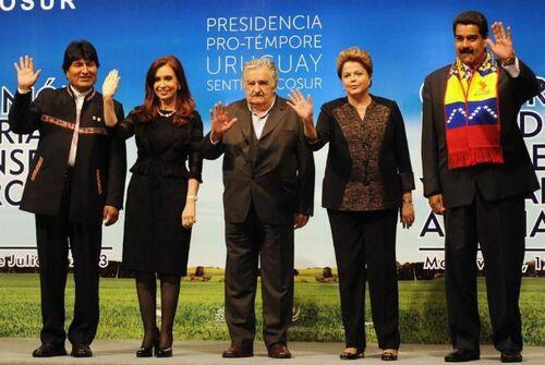 Décision des Etats membres du Mercosur de soutenir le président Evo Morales