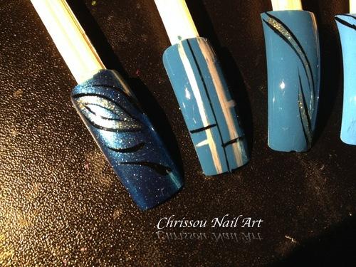 Capsule aux tons bleu