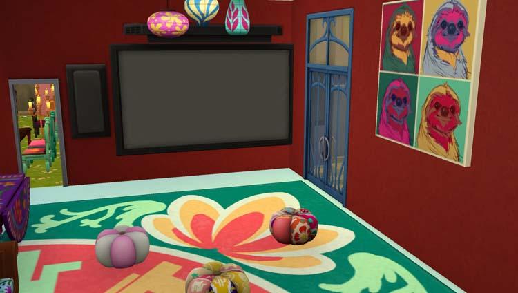 Sims 4 : le restaurant au paradis des enfants
