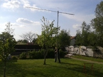 Antenne DJ9BV 432 mHz