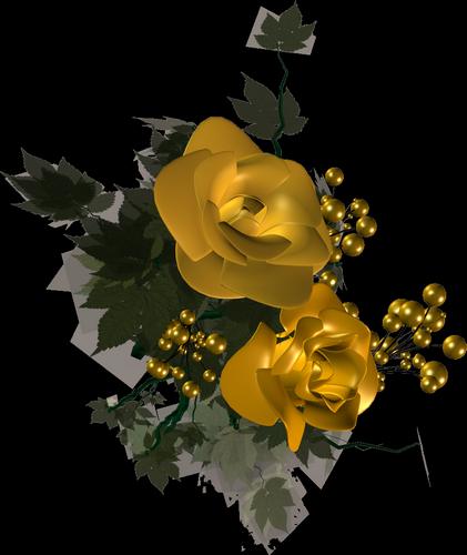 Tube virág 1