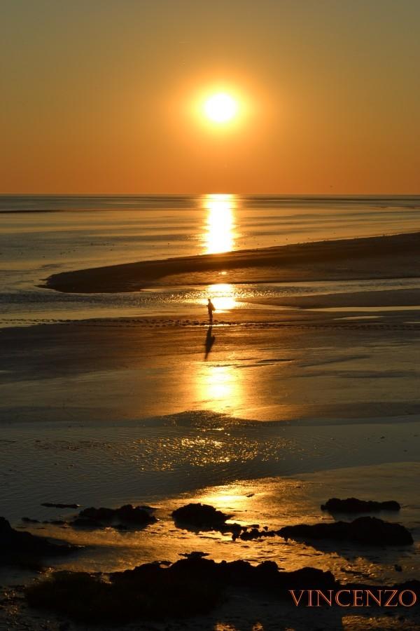 Normandie coucher de soleil 719