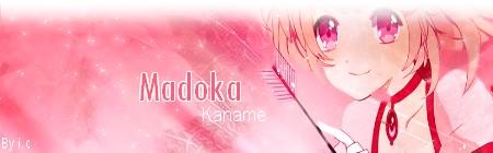 Bannière Kaname Madoka
