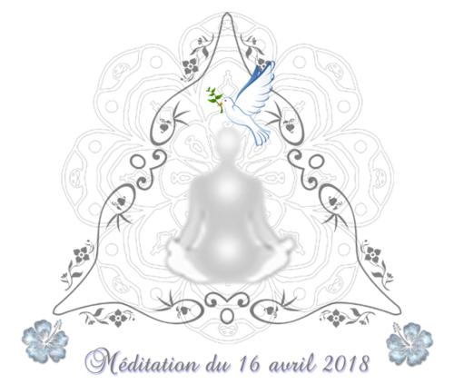 Méditation du 16 avril 2018
