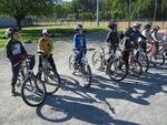 Première séance de vélo du mercredi 4 mai