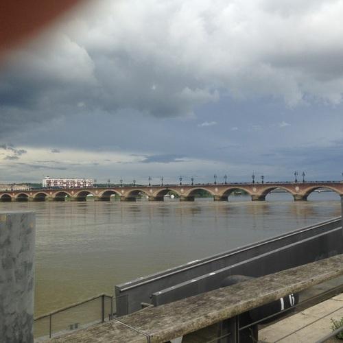 Bordeaux - pont St Pierre