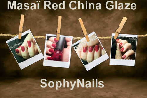 Masai Red CHINA GLAZE