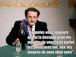 Images du paysage politique français d'avant les fous