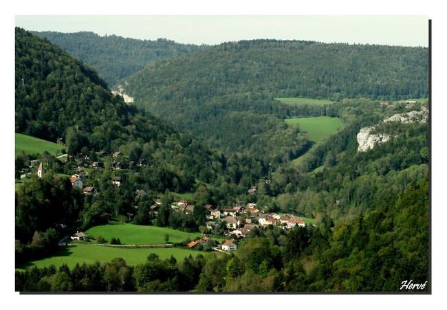 Le long du Doubs à Goumois 2/2.