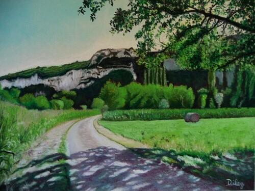 Chemin qui mène à la Dordogne