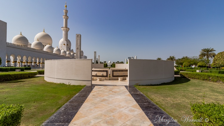 Émirats arabes unis, Abu Dhabi : Mosquée du Sheikh Zayed 1/