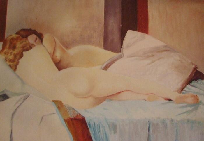 La femme endormie