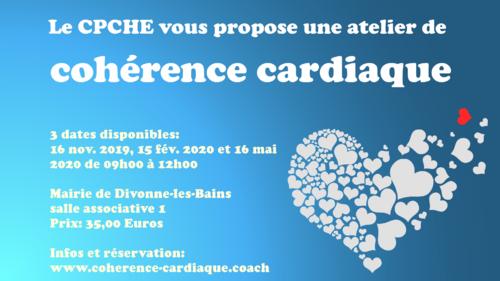 Découvrir la cohérence cardiaque à Divonne-les-Bains