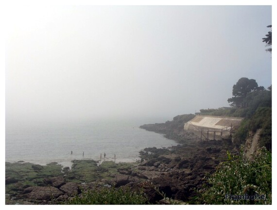 Brouillard thermique à Pornic