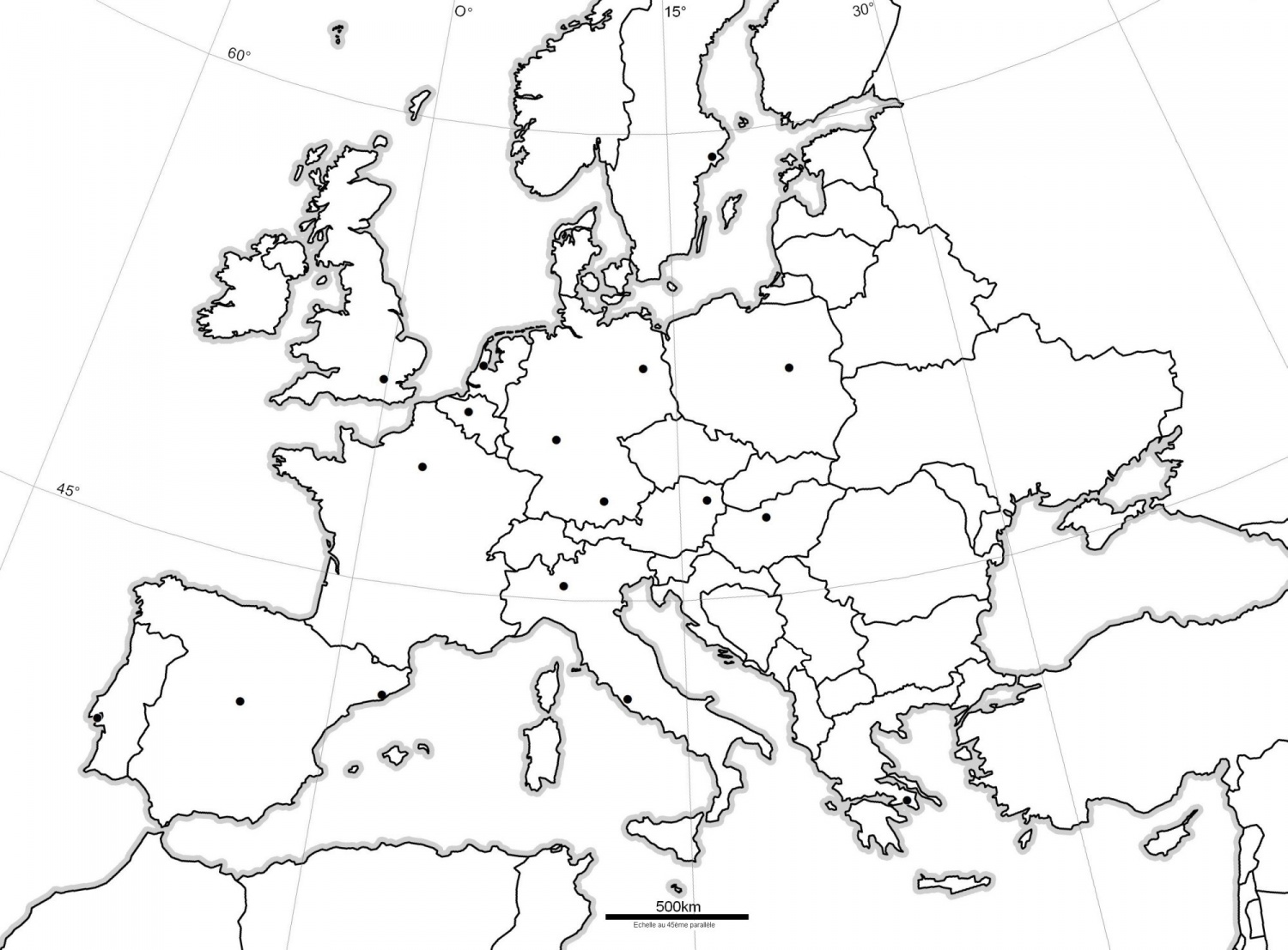 carte europe cycle 2