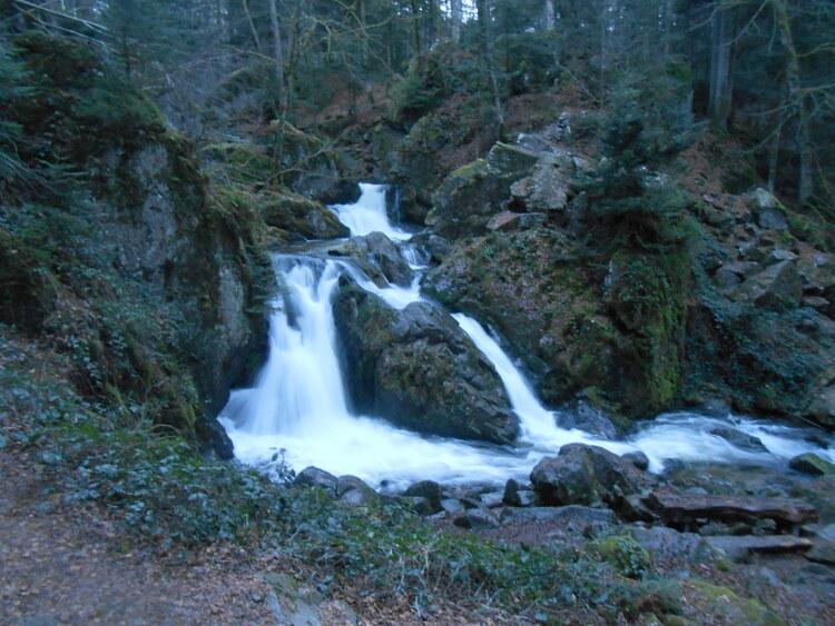 Vosges-cascades du Tendon