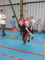 Rencontre sportive inter-écoles : course,relais,lancer (partie 1)