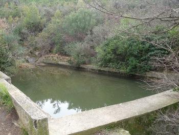 Au cours de la descente, une réserve d'eau bien remplie