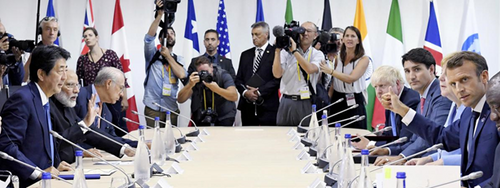 Le G7 a démontré son inutilité totale, et du même coup celle de Macron
