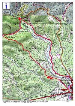 Le Circuit de la Tirounère depuis Saint-Paul-de-Fenouillet