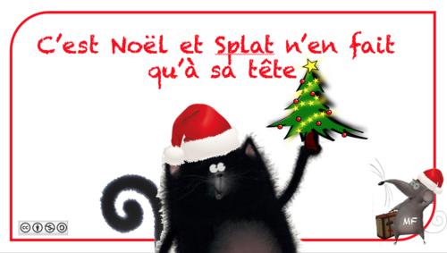 Joyeux Noël avec Splat