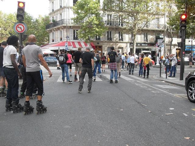 Le dimanche à Paris....