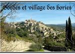 Gorde et le Village des BoriesVaucluse (84)