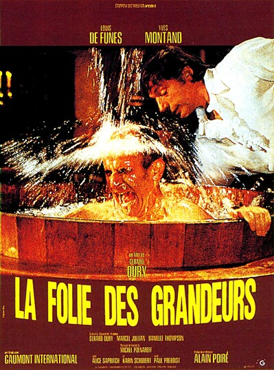 LA FOLIE DES GRANDEURS - BOX OFFICE LOUIS DE FUNES 1971