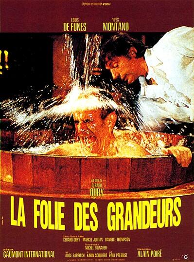LA FOLIE DES GRANDEURS - BOX OFFICE LOUIS DE FUNES 1971