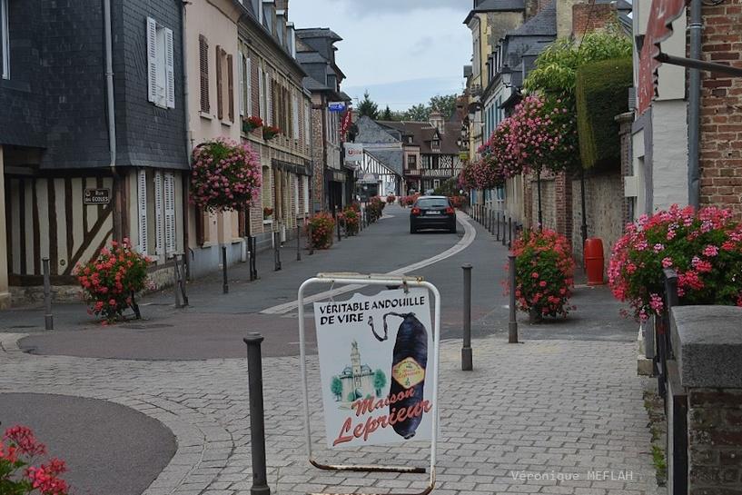 Calvados : été 2018 : Ville de Touques