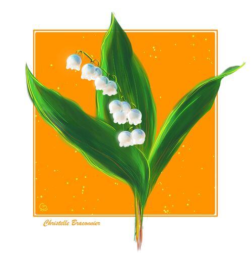 Petite carte fleurie 5