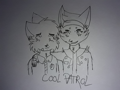 [Eowang Ocs] Lewis et Holly - we are the cool patrol