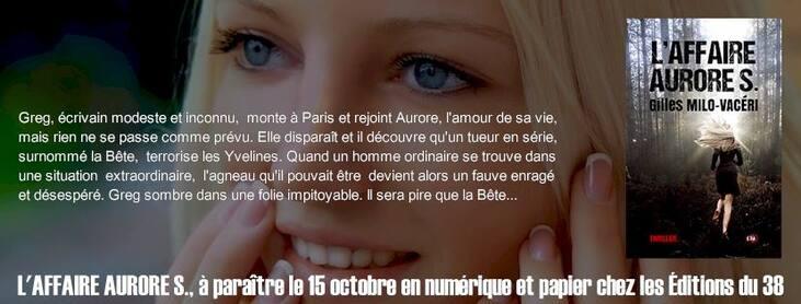 Sortie le 15 Octobre 2016 - Éditions du 38