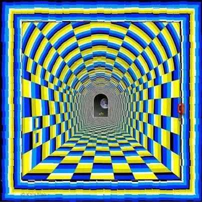 Remarquable illusion d'optique