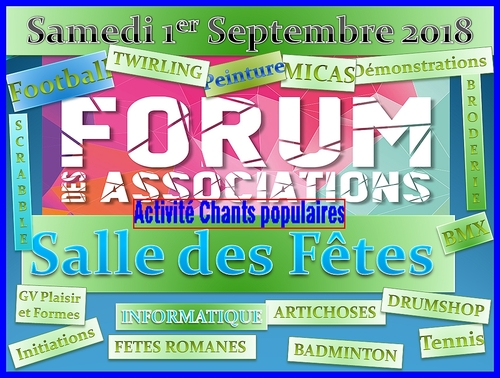 1er Forum des Associations à Breuillet 1/09/2018