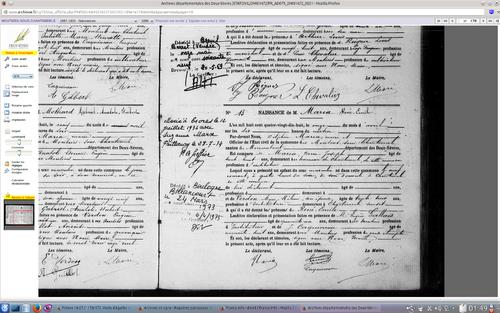 Documents sur la famille Maria