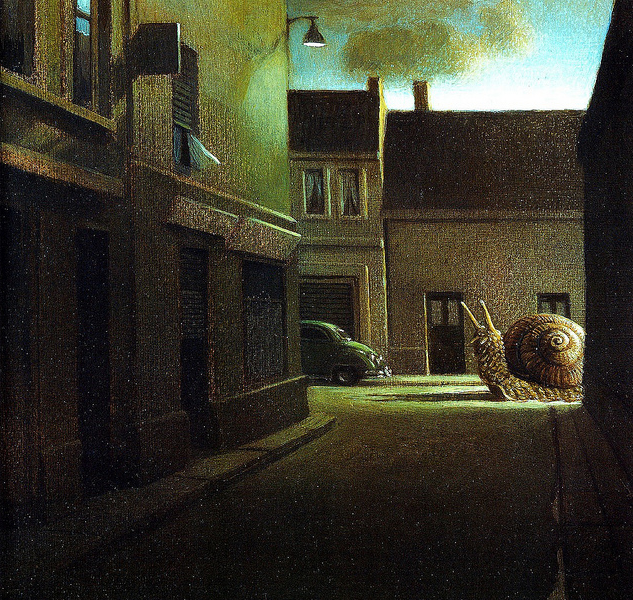 Michael Sowa haunted city