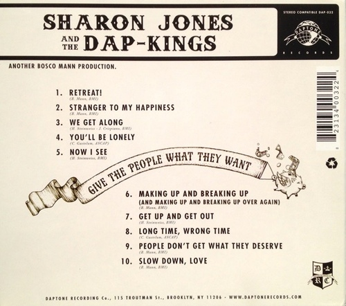 "2014 : Album "" Give The People What They Want "" CD Daptone Records DAP-032 [ US ]"