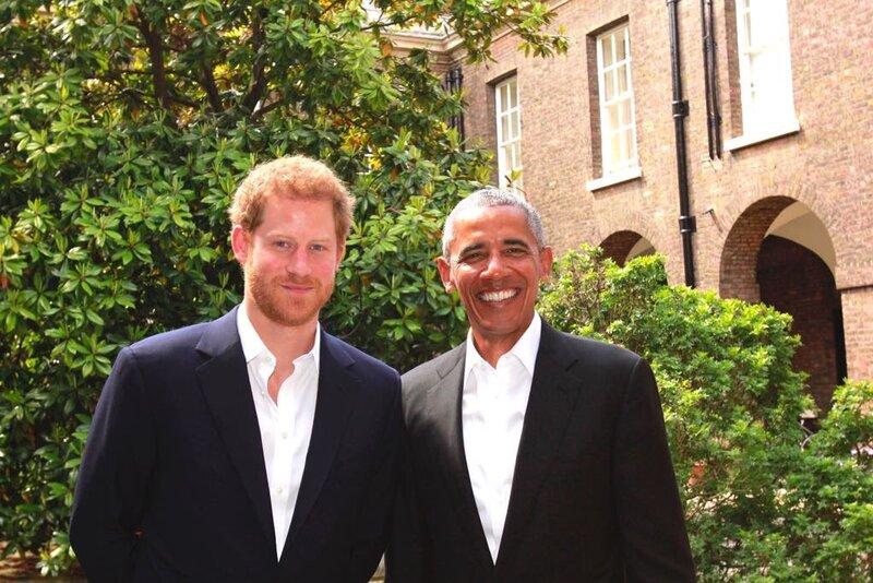 Harry et Obama, ce jour à Kesington