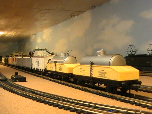 Réseau Moulinsard II - Session Hornby Acho - Wagons de marchandises.