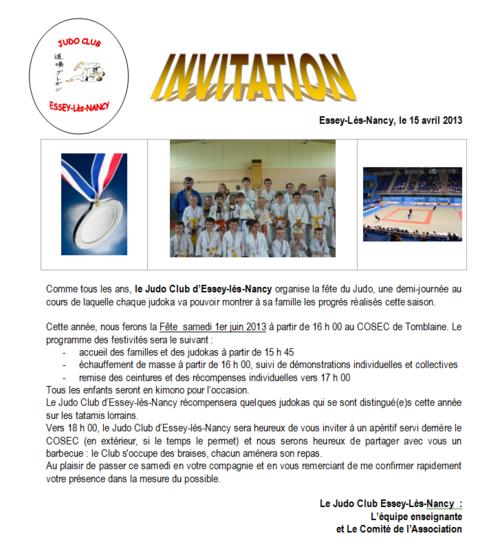 Fête du Judo saison 2012.2013