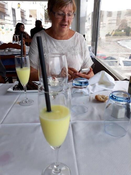 Un petit granité au citron offert