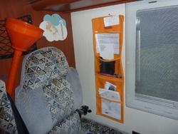 Aménagements du Camping Car
