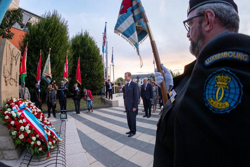 75e anniversaire de la libération de la ville de Pétange