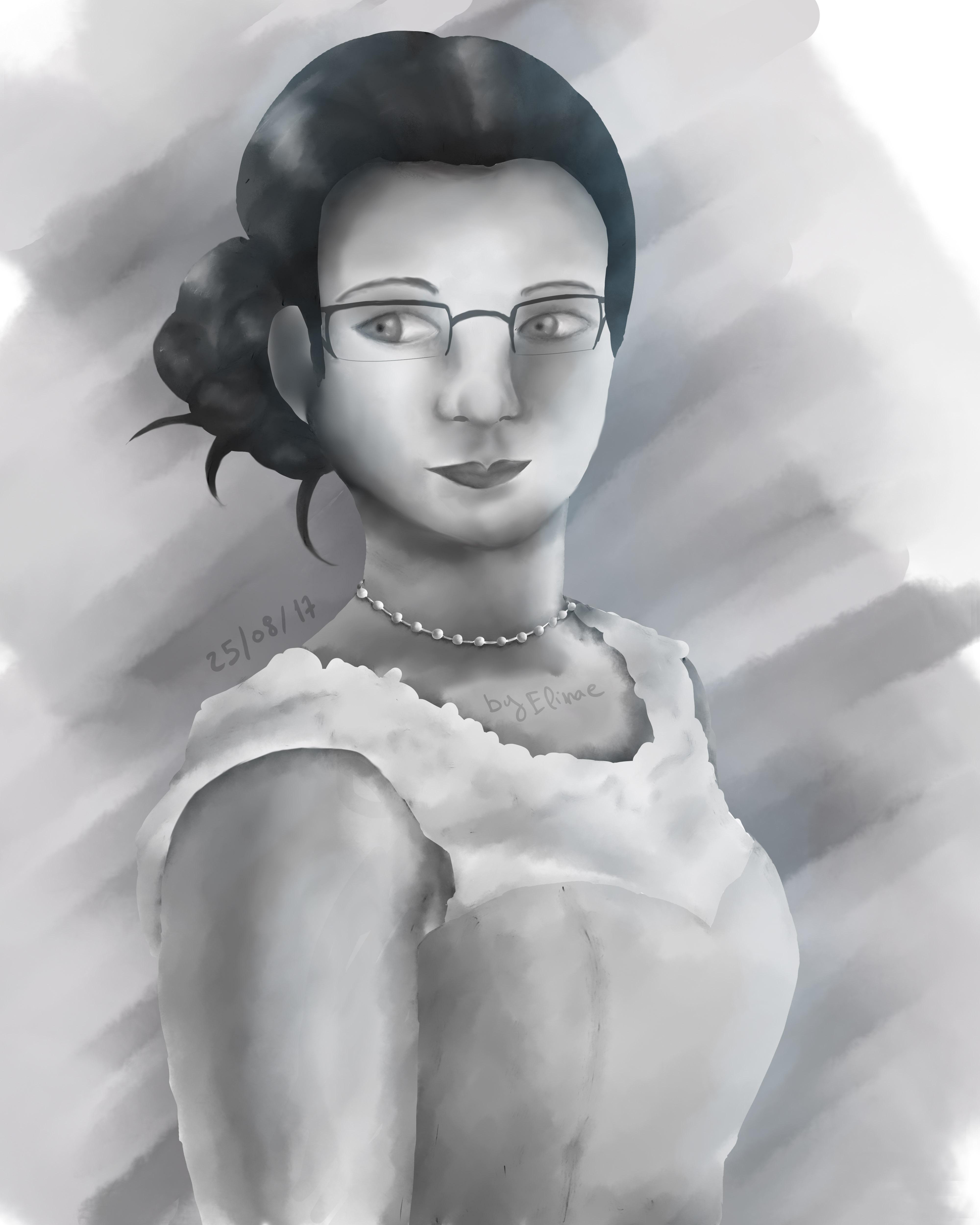 Portrait inspirée d'une photo