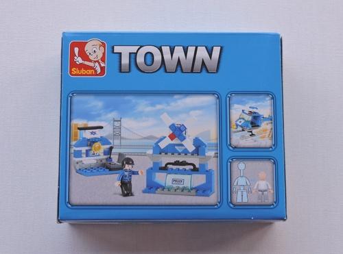 SLUBAN - Hélicoptère de police (85 pièces)