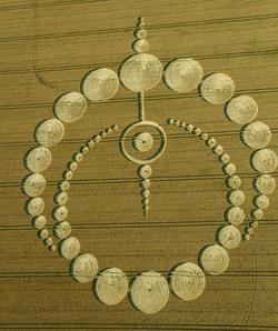 Preuves physiques dans les crop-circles