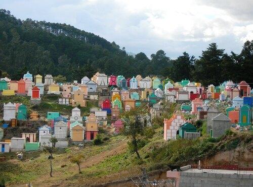 Direction Nord ouest en passant par Chichicastenango